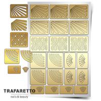 Трафарет для дизайна ногтей Trafaretto. Лучи