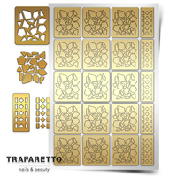 Трафарет для дизайна ногтей Trafaretto. Мозаика