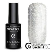 Гель-лак Grattol OS - Оpal Silver
