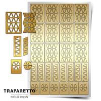 Трафарет для дизайна ногтей Trafaretto. Орнамент треугольнки