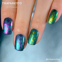 Трафарет для дизайна ногтей Trafaretto. Камни