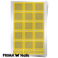Трафарет для дизайна ногтей PrimaNails. Сеточка