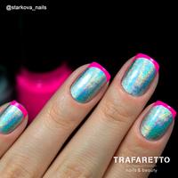 Трафарет для дизайна ногтей Trafaretto. Френч и лунки. Классика