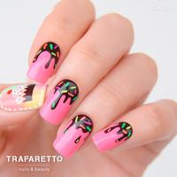 Трафарет для дизайна ногтей Trafaretto. Кондитерская